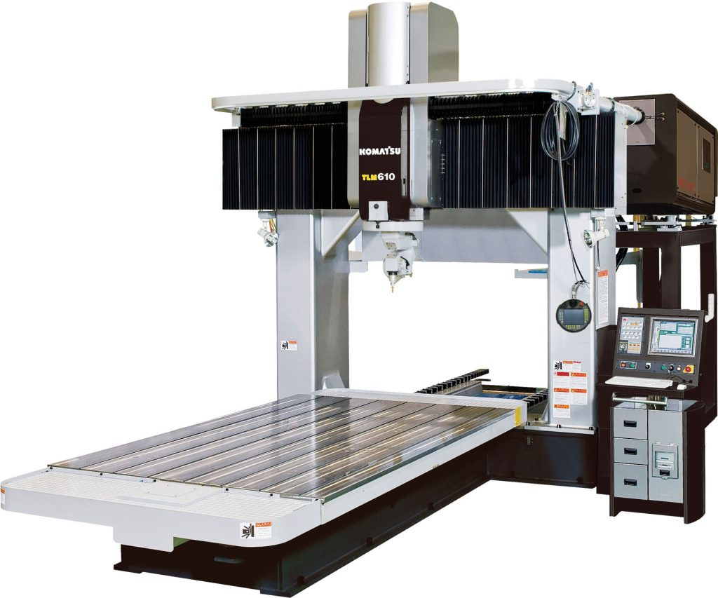 Komatsu TLM610 Laser Cutting System