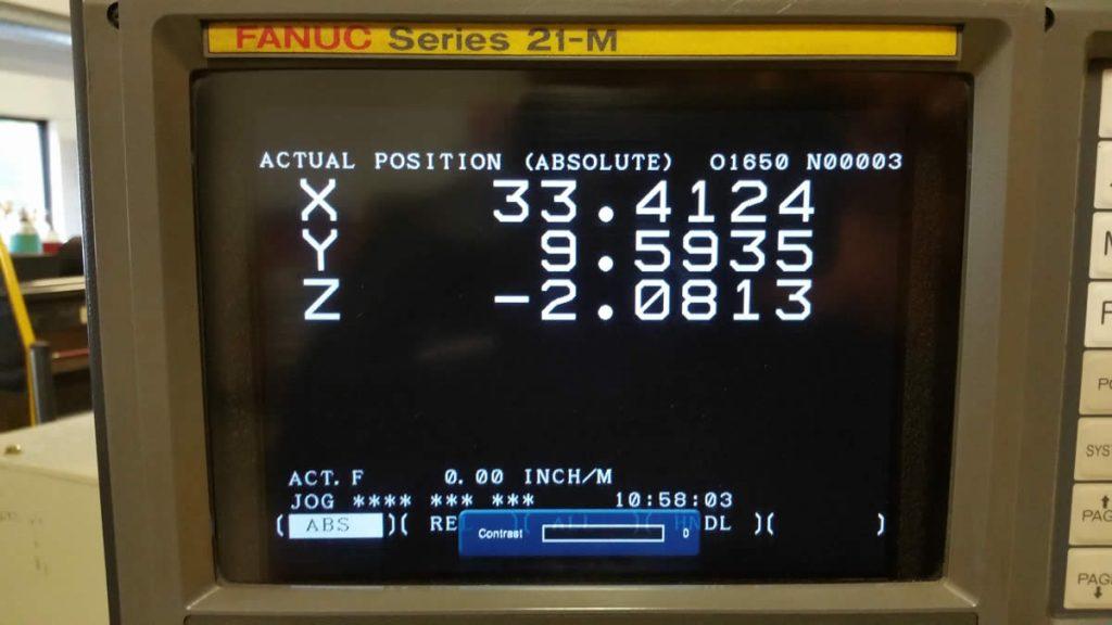 TWISTER TFP3051 21M Fanuc control