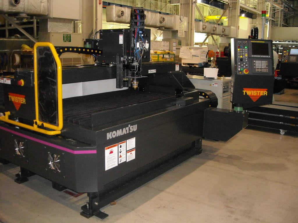 Komatsu Twister TFP Series Plasma Cutter