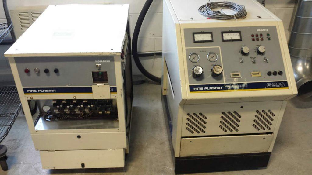 Refurbished Komatsu KCR0951 G990 Plasma Units