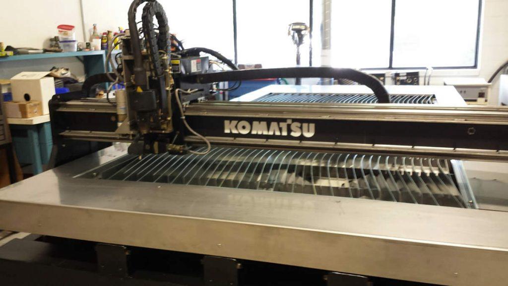 Refurbished Komatsu KCR0951 Machine Front View